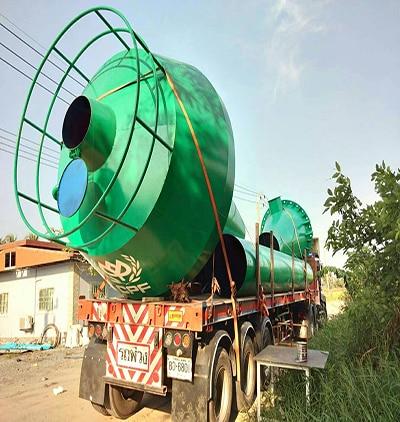 ถังแชมเปญเก็บน้ำจากโครงการ CPF